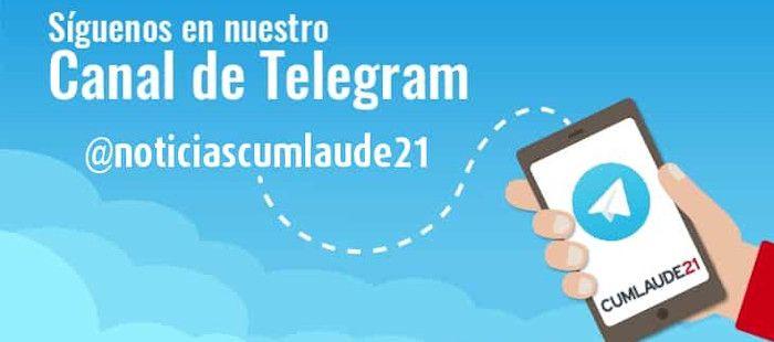 Telegram de Cum laude 21